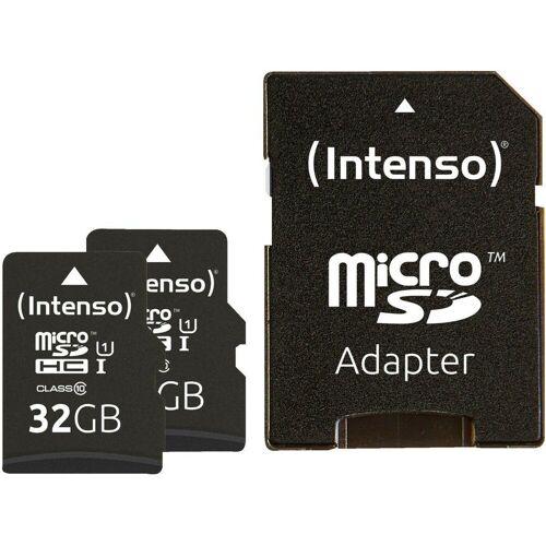 Intenso »microSDHC 32GB Doppelpack Speicherkarte UHS-1, bis zu 45 MB/s« Speicherkarte