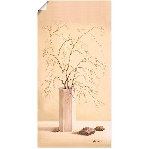 Artland Wandbild »Birkenzweig«, Vasen & Töpfe (1 Stück)