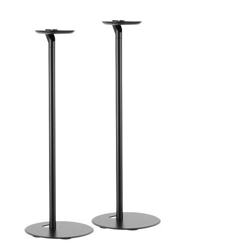 LogiLink Lautsprecherständer, (2-tlg., 2er Set Lautsprecher-Ständer für SONOS ONE, ONE SL und SONOS PLAY:1 schwarz)