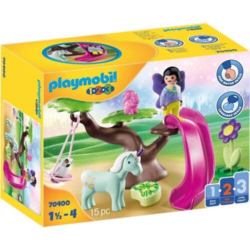 Playmobil Konstruktions-Spielset »Feenspielplatz (70400), Playmobil 1-2-3«