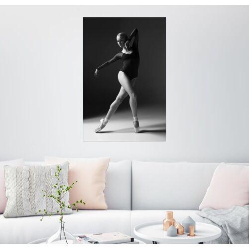 Posterlounge Wandbild, Elegante Ballerina