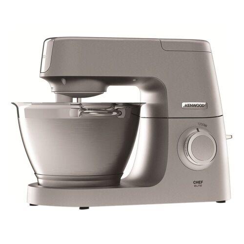 Kenwood Multifunktions-Küchenmaschine KVC 5401.S Chef Elite Küchenmaschine, 1200 W, 4.6 l Schüssel