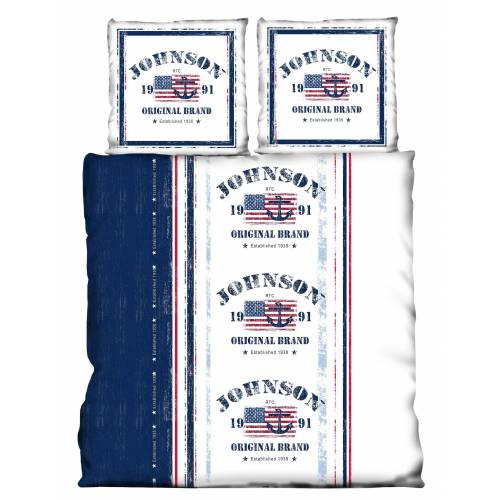 One Home Partnerbettwäsche »USA«, , America Flag