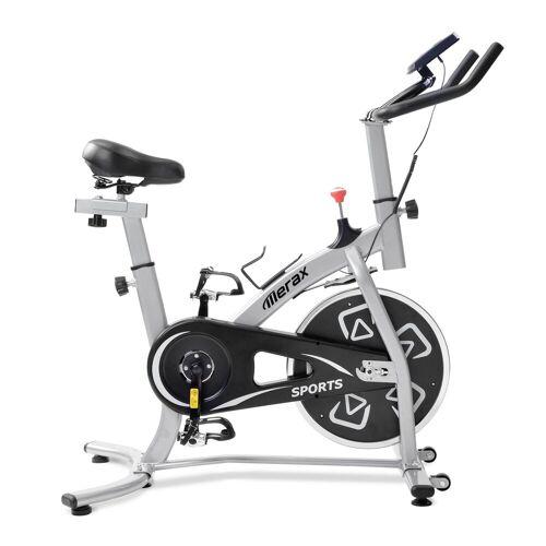 PHOEBE CAT Fahrradtrainer »Speedbike Heimtrainer Fahrrad Indoor Cycle mit LCD-Konsole«, Silber