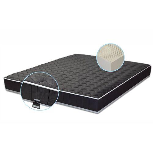 Primo Line Latexmatratze »Black Label - 7 Zonen Matratze Black Label Matratze RG 65 / 75 (bis 95kg/125kg) Bezug & Latex Kern«, , 16 cm hoch, Raumgewicht: 70, Black Label 7 Zonen Matratze H2/H3 Höhe 20 cm RG 65/ 70 (bis 125kg) Bezug & Latex Kern