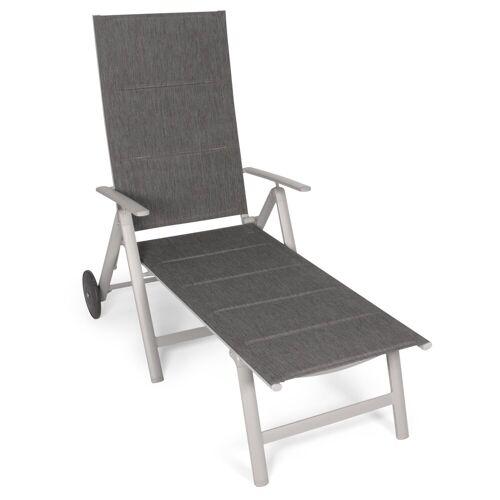 VANAGE Gartenliege »VA-6910« Sonnenliege klappbar, grau