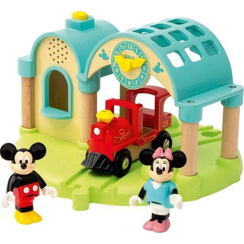 Brio Spielzeug-Eisenbahn »Micky Maus Bahnhof mit Aufnahmefunktion«