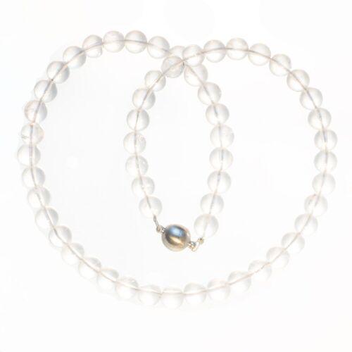Bella Carina Perlenkette »Bergkristall 8 mm«, mit Bergkristall