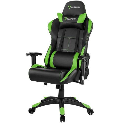 ebuy24 Gaming-Stuhl »Paracon Rogue Gaming Stuhl inkl. Nackenkissen und«, grün