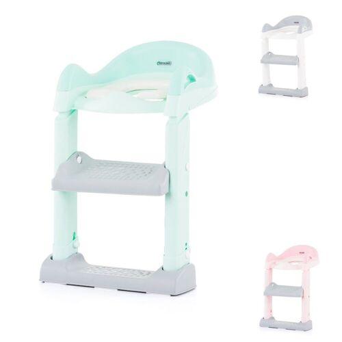 Chipolino Toilettentrainer »Toilettenaufsatz, Toilettensitz«, mit Leiter, Griffe, Fußstütze, kompakt, grün