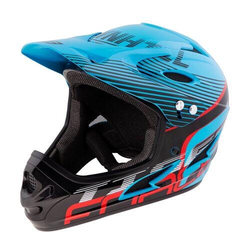 FORCE Fahrradhelm »Downhill Tiger Helm«, Blau