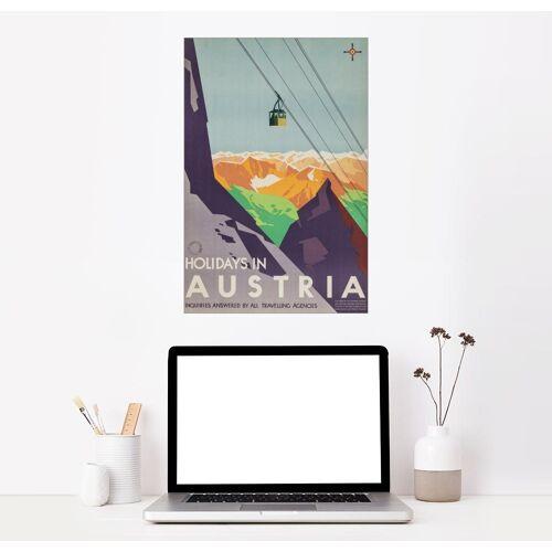 Posterlounge Wandbild, Urlaub in Östereich