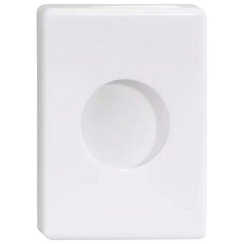Nie wieder bohren Feuchttücherbox »WE« (1 Stück), in weiß