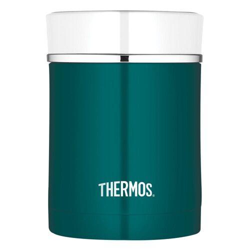 Thermos Thermobehälter »Premium Edelstahl Teal White 0.47 L«, Edelstahl, (1-tlg)