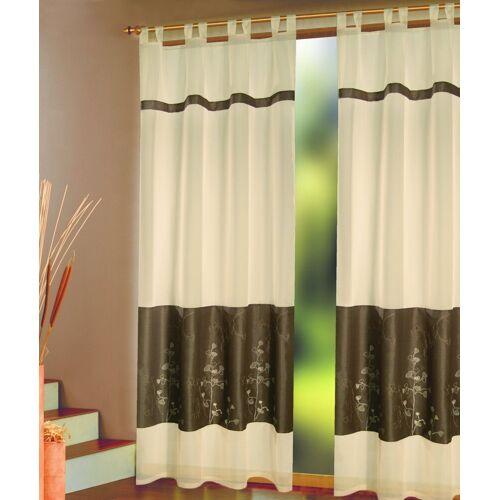 Vorhang »Elli«, Schlaufen (1 Stück), Schlaufenschal