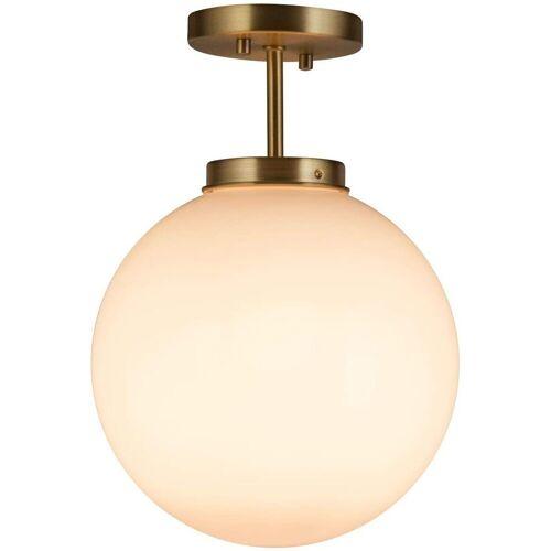 COSTWAY Deckenleuchte »Deckenleuchte«, Deckenlampe Kugelleuchte Lampenschirm E27