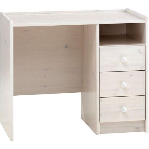 ebuy24 Schreibtisch »Molly Kids Schreibtisch 3 Schubladen und 1 Ablage«