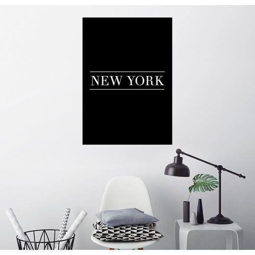 Posterlounge Wandbild, NEW YORK, HORIZONTAL