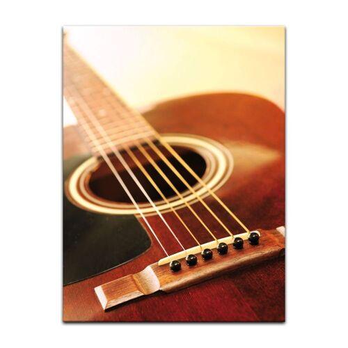 Bilderdepot24 Leinwandbild, Leinwandbild - Gitarre
