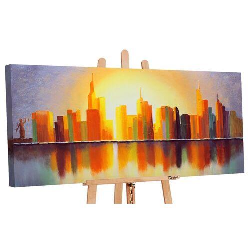 ART YS-Art Gemälde »Sonnenstadt 016«