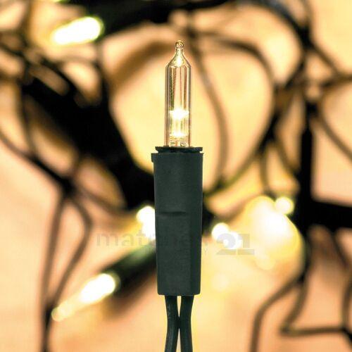 matches21 HOME & HOBBY LED-Lichterkette »LED Minilichterkette 50-flammig extra warmweiß Mini Lichterkette«, 50-flammig