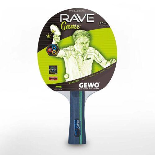 Gewo Tischtennisschläger »Schläger Rave Game«