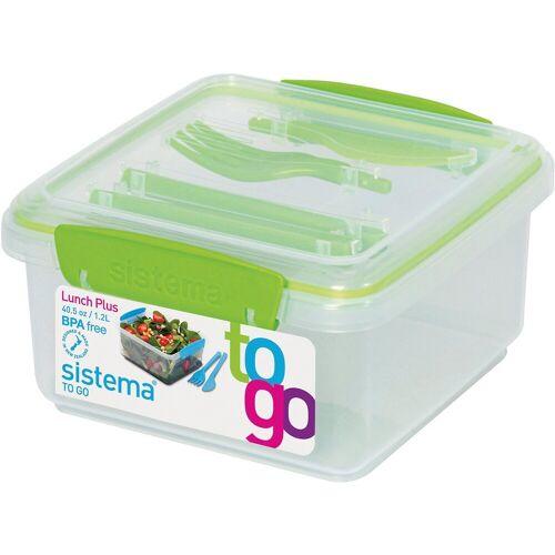 "sistema Lunchbox »Lunchbox ""To Go"" mit Besteck 1,2 l«"