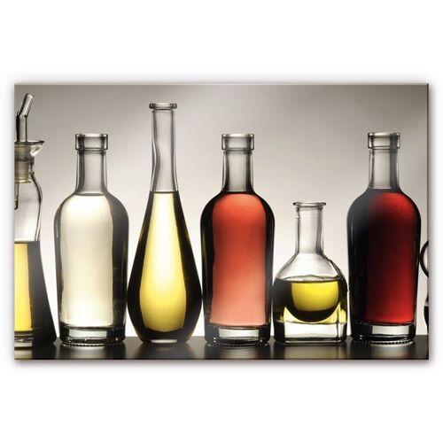Küchenrückwand »Spritzschutz Küche Olio e Aceto«, (1-tlg), transparent