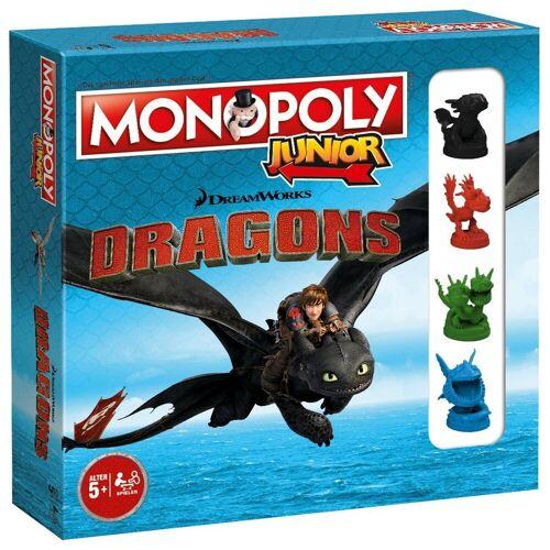 Winning Moves Spiel, Brettspiel »Monopoly Junior Dragons 2nd Edition (2019)«