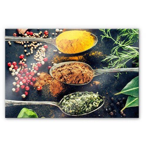 Küchenrückwand »Spritzschutz Kräutervielfalt«, (1-tlg), transparent