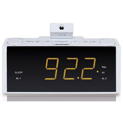 Blaupunkt »CLR-P 1800 WH« Radiowecker (UKW, Radiowecker UKW PLL mit Nap-Timer), weiß