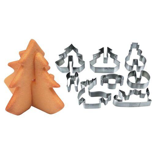 myToys Ausstechform »Xmas 3D Keksausstecher«