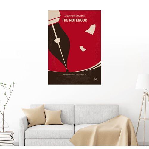 Posterlounge Wandbild, Premium-Poster The Notebook