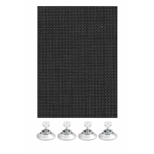 GARDINIA Gardinenstange »Flexibler Sonnenschutz schwarz 100 x 200«,