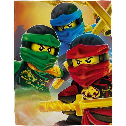 Character World Kinderdecke »Fleecedecke, LEGO Ninjago, 100 x 150 cm«,