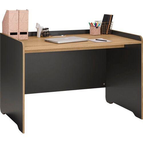 """Places of Style Schreibtisch »Ergil«, Schreibtisch """"Ergil"""", Breite 121 cm, schwarzer graphit-eiche sonoma"""