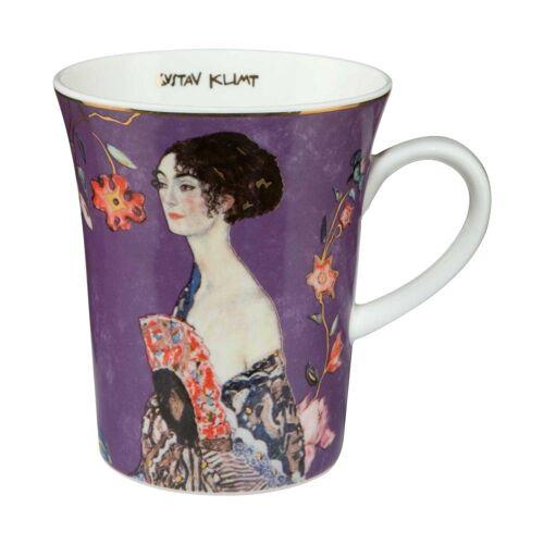 Goebel Becher »Dame mit Fächer Gustav Klimt«