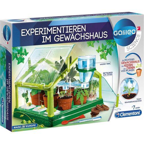 Clementoni® Lernspielzeug »Galileo - Experimentieren im Gewächshaus«