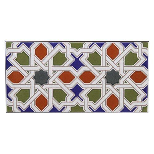 Casa Moro Fliesenaufkleber »Marokkanische Wandfliese Rayhan 28x14 cm«