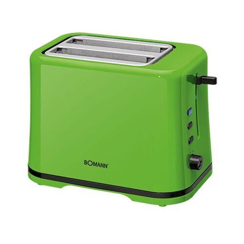 BOMANN Toaster TA 1577 CB Toaster grün