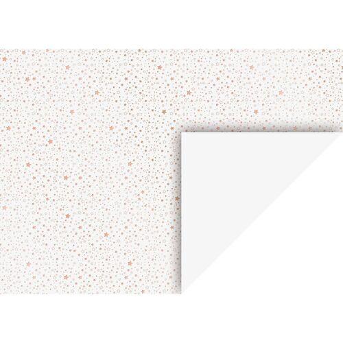 VBS Motivpapier »Sterne«, 70 cm x 50 cm, Kupfer