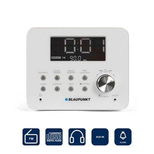 Blaupunkt »CDR 10 WH« Radiowecker (UKW, UKW Uhrenradio mit CD Player und Wecker)