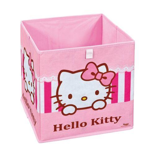 ebuy24 Aufbewahrungsbox »HKSP Aufbewahrungsbox pink, weiss.«