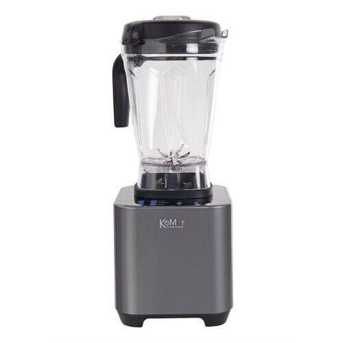 KeMar Kitchenware Standmixer KSB-200M, 1500 W, High Speed Standmixer mit LED Touch Bedienfeld, 2 Liter Behälter, Smoothie Mixer, Standmixer, Hochleistungsmixer, High Speed, 30.000 U/min, LED Touch Panel, 10 Geschwindigkeitsstufen, AGS gehärtete Stahlkling