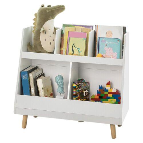 SoBuy Bücherregal »KMB19«, Kinderregal mit 5 Fächern
