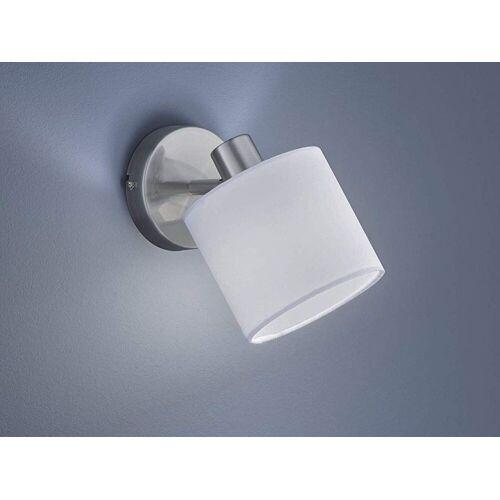 TRIO LED Wandstrahler, dimmbarer Licht-Spot Strahler rund 1-flammig für Wand & Decke Retro Decken-Strahler schwenkbar