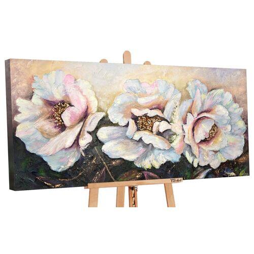 ART YS-Art Gemälde »Pfingstrosen PS091«
