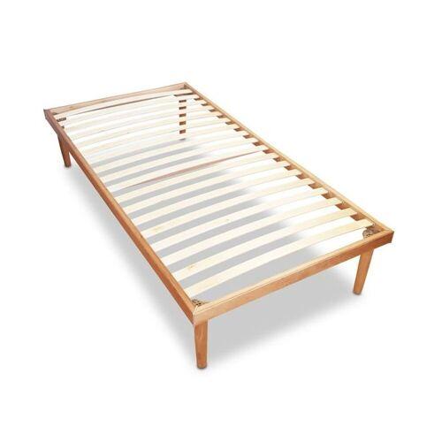 Coemo Lattenrost, , 18 Leisten, Kopfteil nicht verstellbar, Lattenrost und Bett in einem