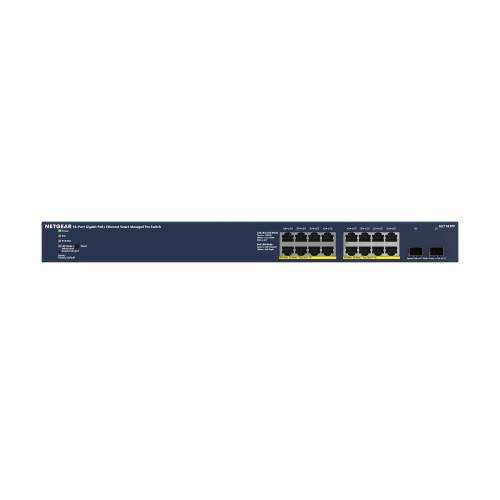 Netgear »mit 16x PoE+ 300W, 2x 1G-SFP« Netzwerk-Switch