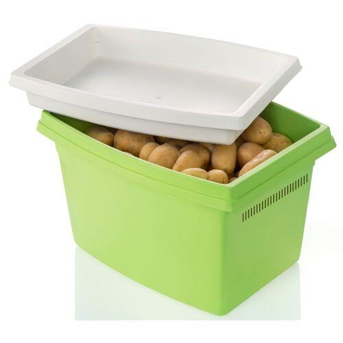 Ruco Aufbewahrungsbox, Kunststoff, (Set, 2-tlg), für Kartoffeln, mit Deckel